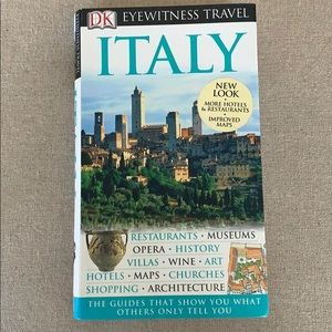 EUC Eyewitness travel Italy guide book